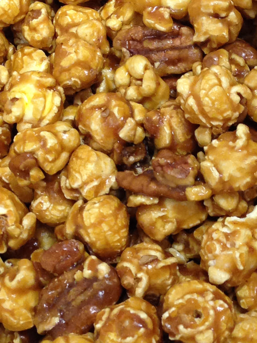 Caramels and Toffee with Nuts & Chocolates PoPcorn