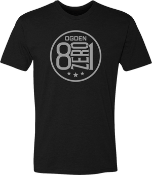 801 eight zero one 8zero1 black ogden tees t-shirt tshirt tee shirt short sleeve utah clothing local shop ogdenmade