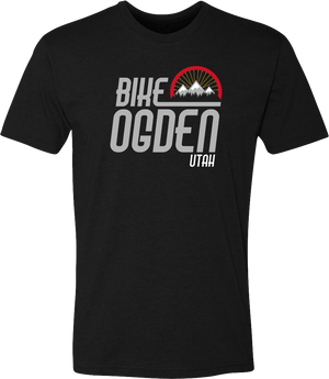 bike ogden black ogden tees t-shirt tshirt tee shirt short sleeve utah clothing local shop ogdenmade