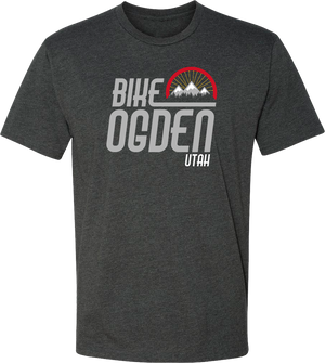 bike ogden charcoal ogden tees t-shirt tshirt tee shirt short sleeve utah clothing local shop ogdenmade