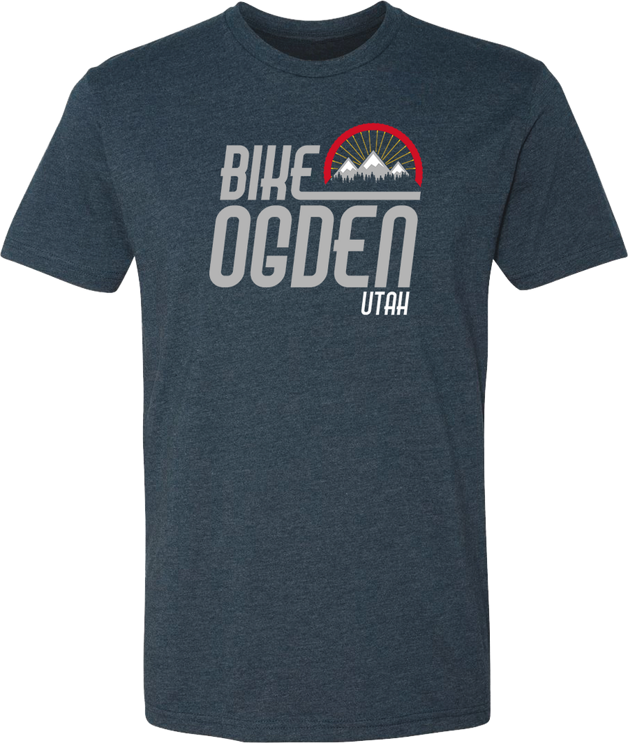 bike ogden midnight navy ogden tees t-shirt tshirt tee shirt short sleeve utah clothing local shop ogdenmade
