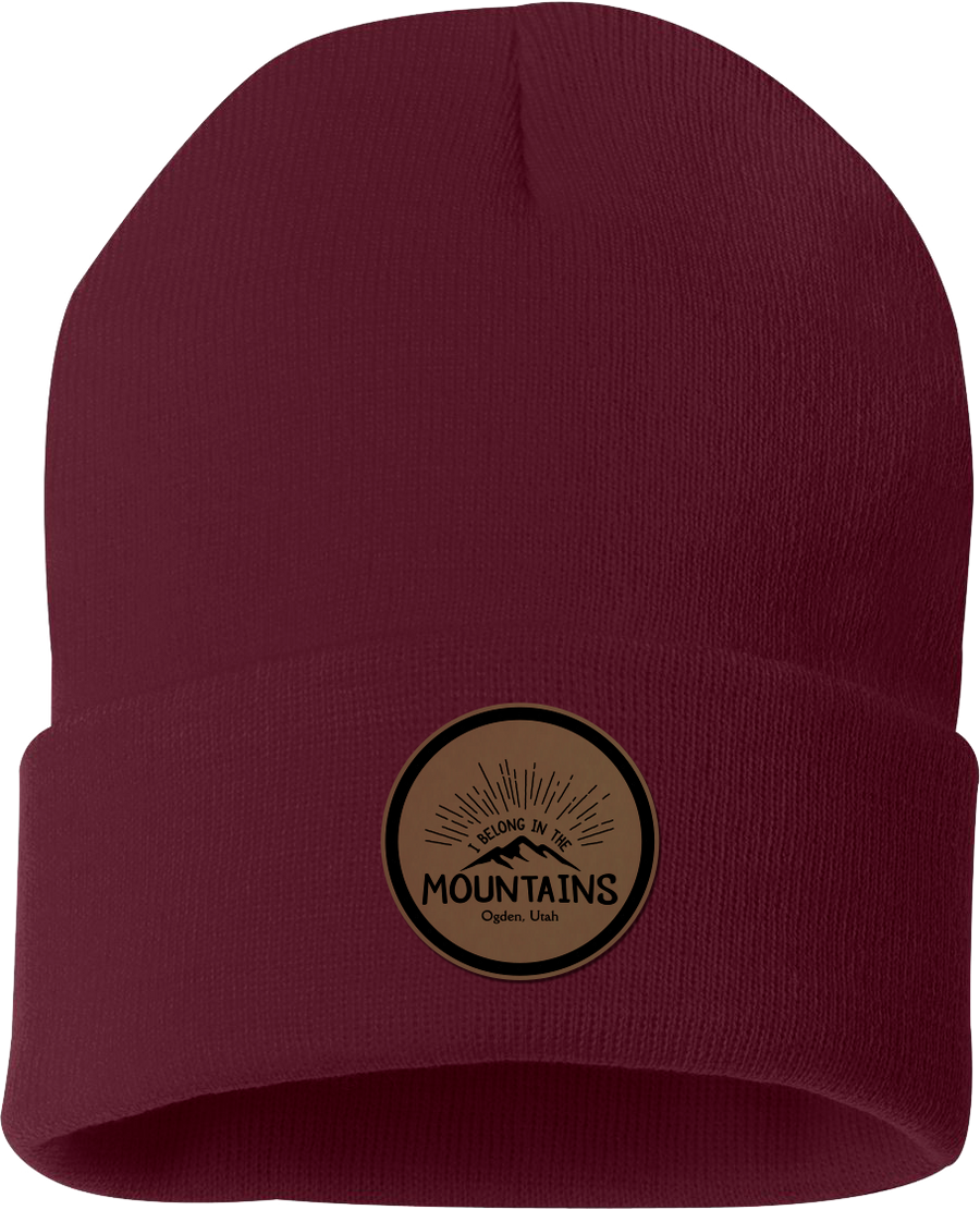 I Belong In The Mountains Beanie