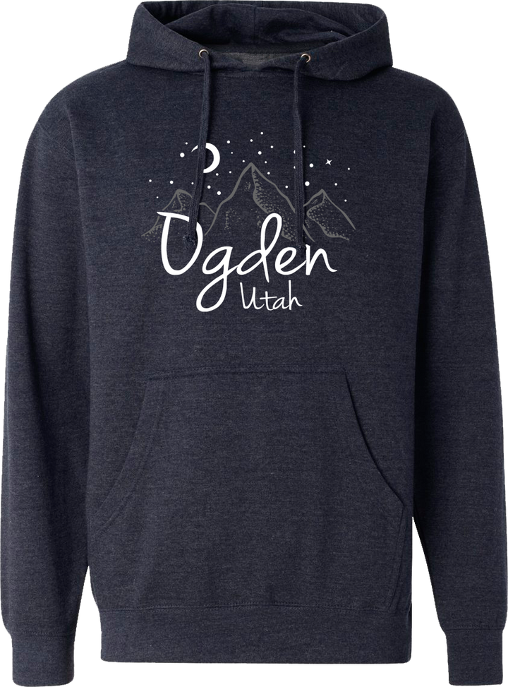 ogden nite hoodie midnight navy hoodies hooded sweatshirts fleece utah clothing local shop ogdenmade
