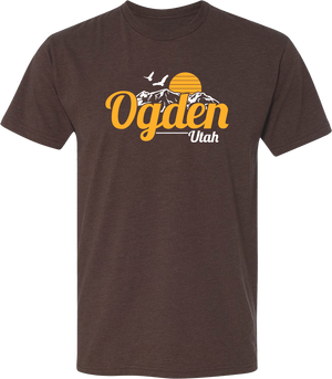 original sunset espresso ogden tees t-shirt tshirt tee shirt short sleeve utah clothing local shop ogdenmade