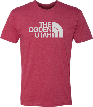 the ogden utah cardinal red tees t-shirt tshirt tee shirt short sleeve utah clothing local shop ogdenmade