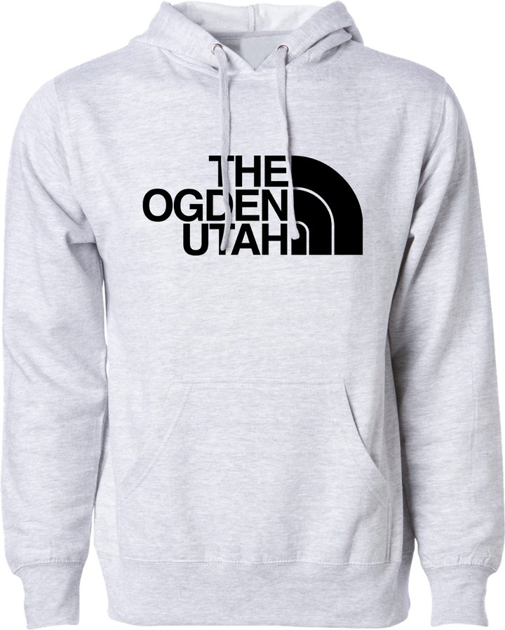 the ogden utah hoodie heather grey hoodies hooded sweatshirts fleece utah clothing local shop ogdenmade
