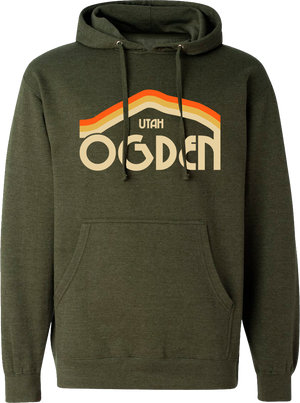 tri mountain army heather ogden hoodies hooded sweatshirts fleece utah clothing local shop ogdenmade