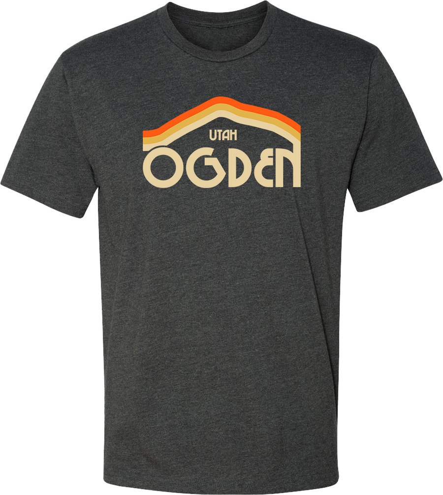 tri mountain charcoal ogden tees t-shirt tshirt tee shirt short sleeve utah clothing local shop ogdenmade