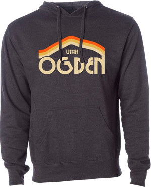 tri mountain charcoal heather ogden hoodies hooded sweatshirts fleece utah clothing local shop ogdenmade