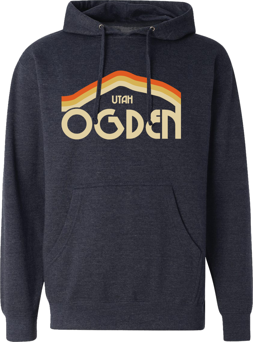tri mountain navy heather ogden hoodies hooded sweatshirts fleece utah clothing local shop ogdenmade