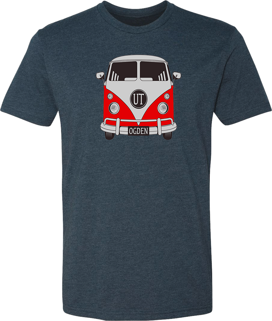 vw midnight navy ogden tees t-shirt tshirt tee shirt short sleeve utah clothing local shop ogdenmade