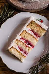 Cranberry Orange White Chocolate Cake- Pick Up Only
