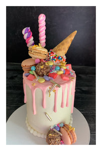 Candy Drip Cake