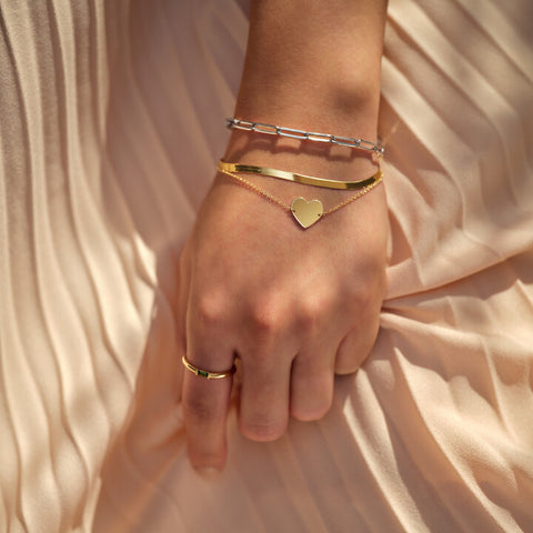 Our bracelet boutique offers a diverse collection of wearable everyday luxury pieces.