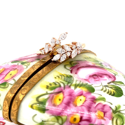 14K Rose Gold 1/2 CTW Bypass Ring Storyteller by Vintage Magnality