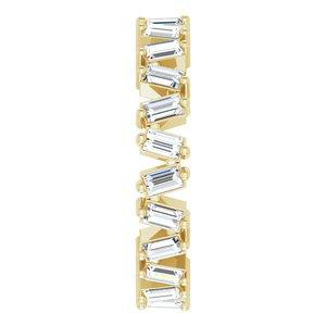 1.5 CTW Lab-Grown Diamond Eternity Band Size 7 14K Yellow Gold Ethical Sustainable Fine Jewelry Storyteller by Vintage Magnality