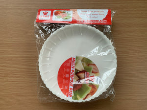 6 Pcs Plastic Multi-Purpose Party Plate