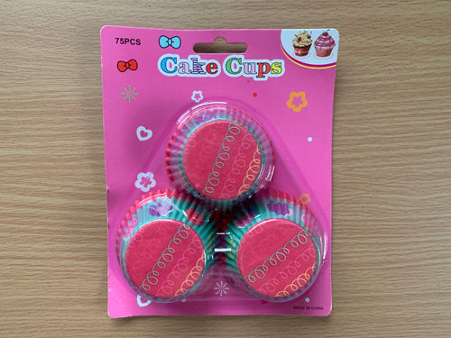 75 pcs Cake Cups For Baking