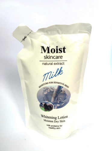Moist Skincare Natural Extract Milk Whitening Lotion