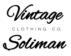 Vintage Soliman Clothing
