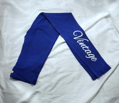 Vintage Leggings (Royal Blue) (CLEARANCE)