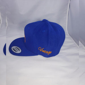 "Vintage ""Pat, I will like to buy a vowel"" Unisex Royal Blue Snapback"