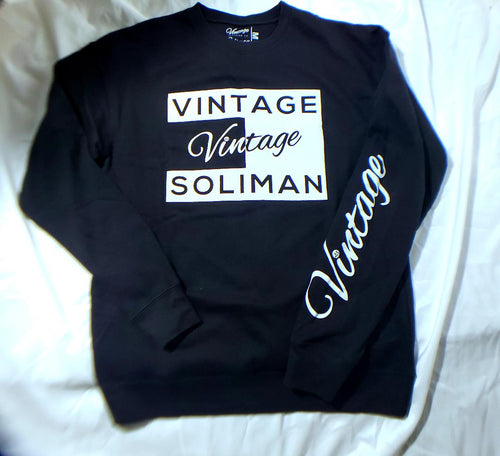 Vintage Sweatshirt White Label