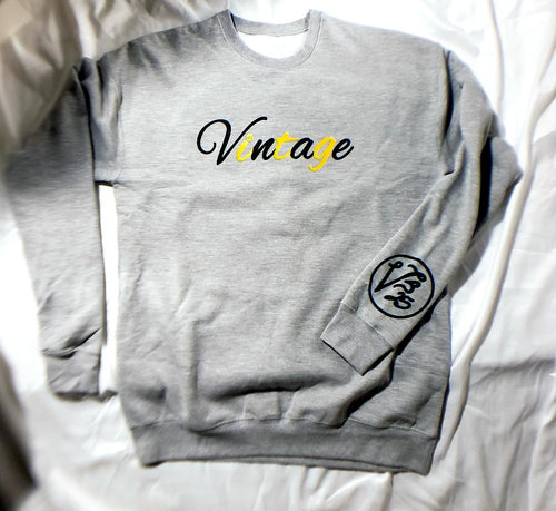 Vintage Sweatshirt Lemon-Lime