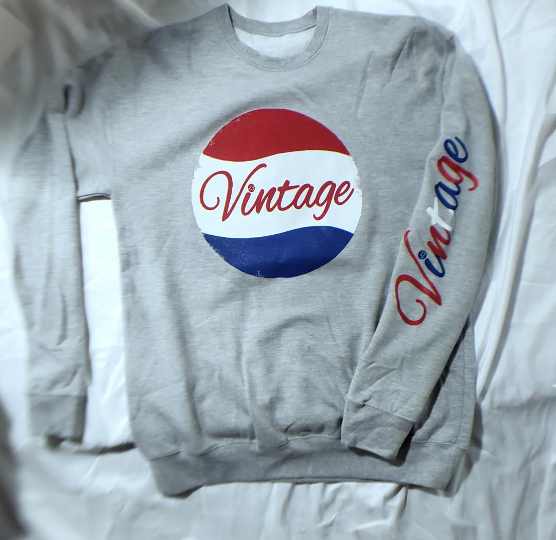 Vintage Sweatshirt Tasters Choice