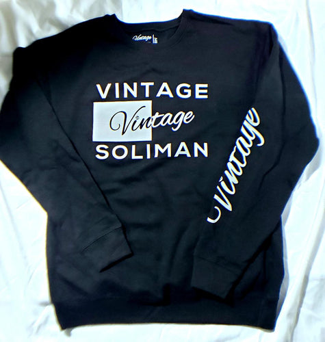 Vintage Sweatshirt Black Label