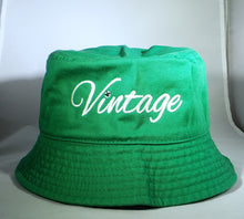 Load image into Gallery viewer, Vintage Bucket Hat Kelly Green
