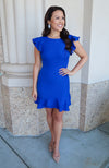 Worthy Blue Dress