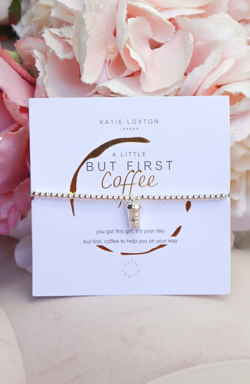 But First Coffee Bracelet
