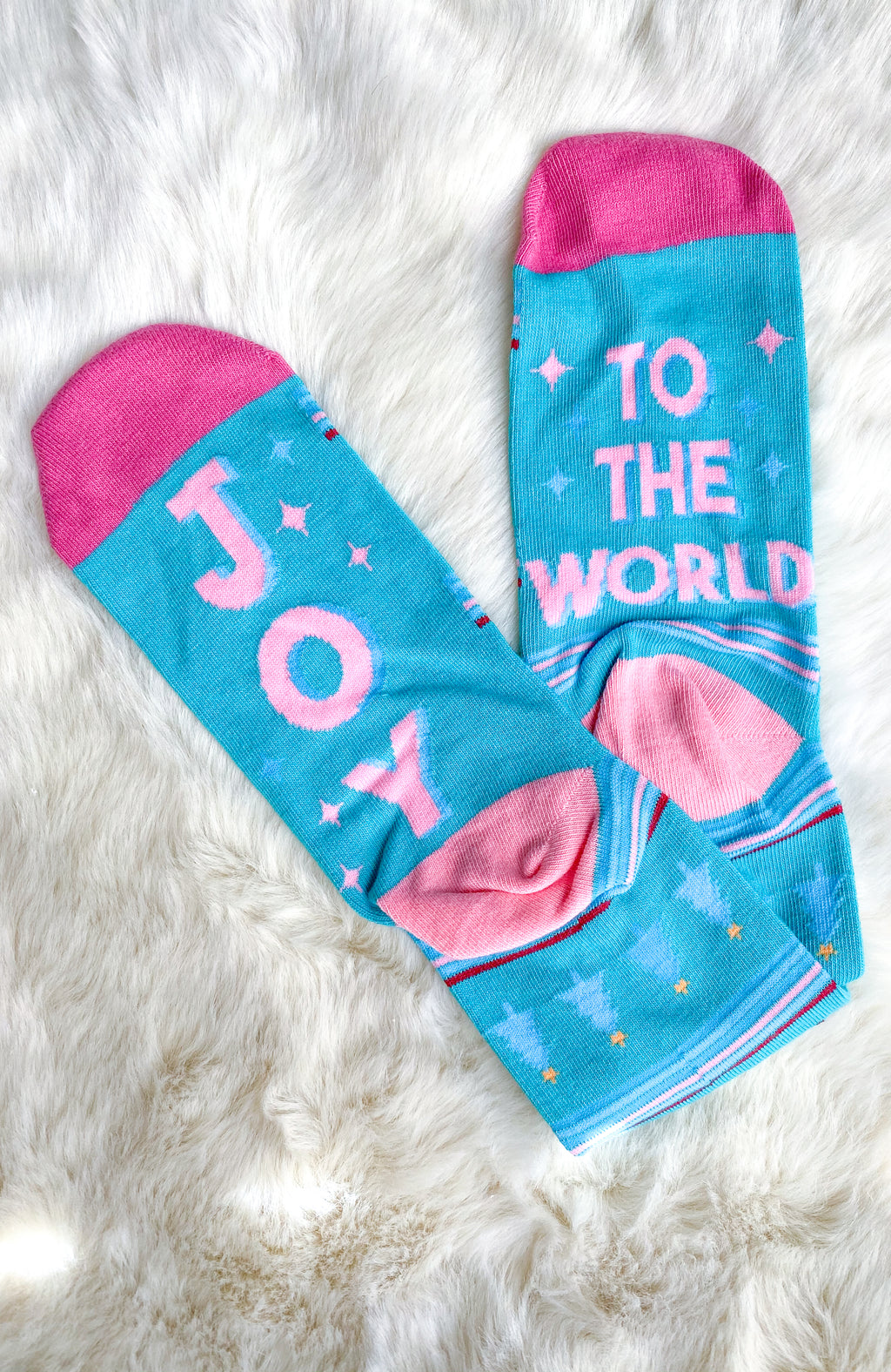 Joy To The World Socks