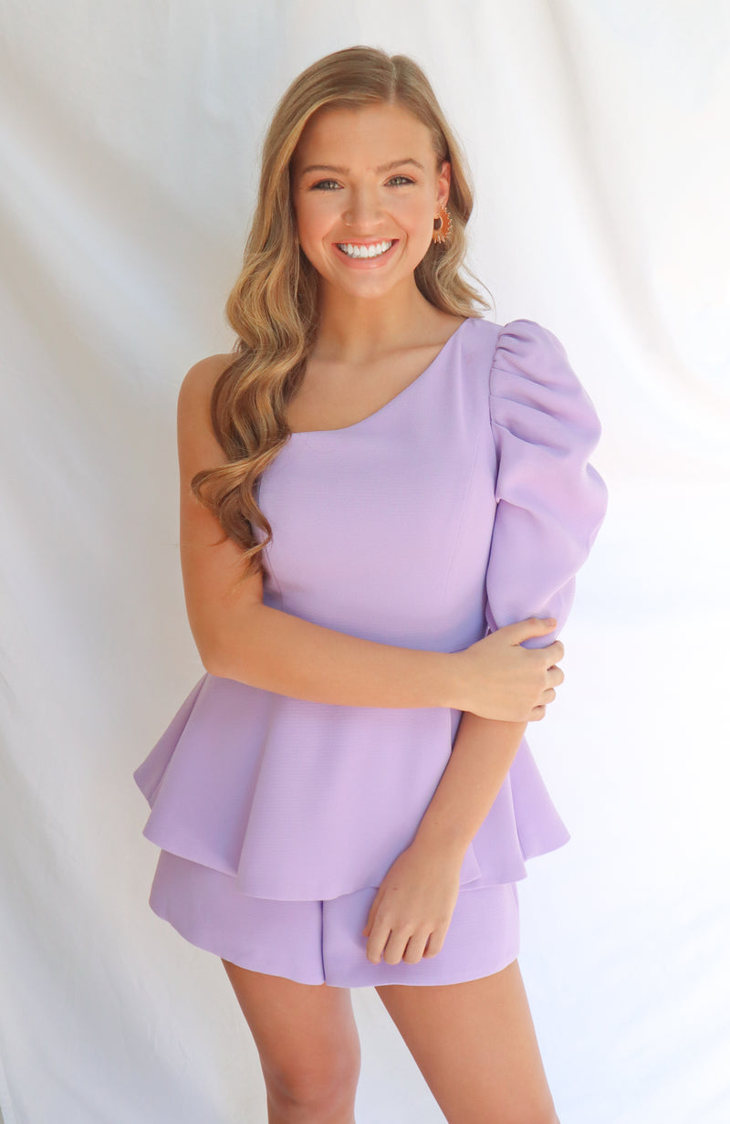 Day Like This Lavender Romper