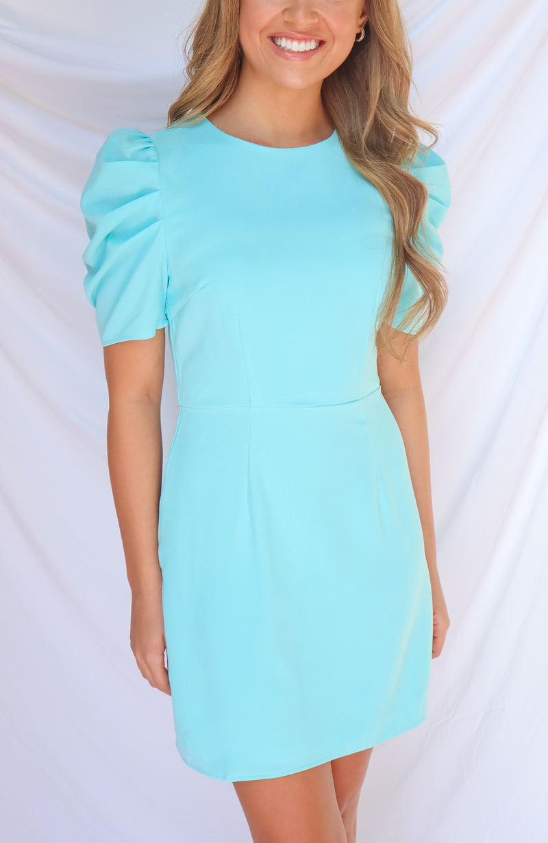 She Has It All Sky Blue Dress