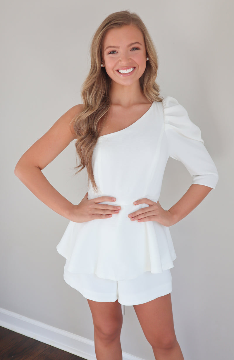 Day Like This White Romper