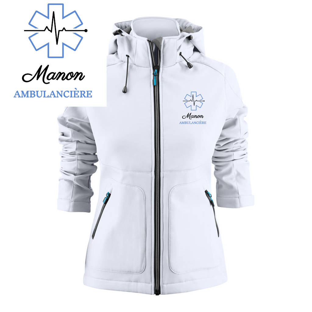 Veste Softshell - MOTIF AMBULANCE