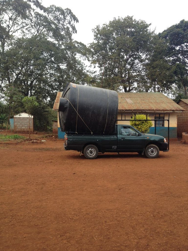 Water Tank - Markwa Primary School - Kenya