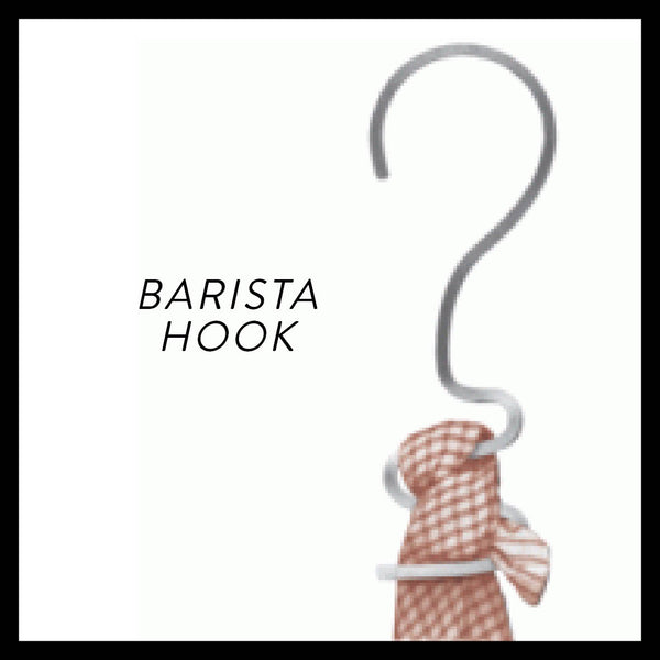 Barista Cloth Hook
