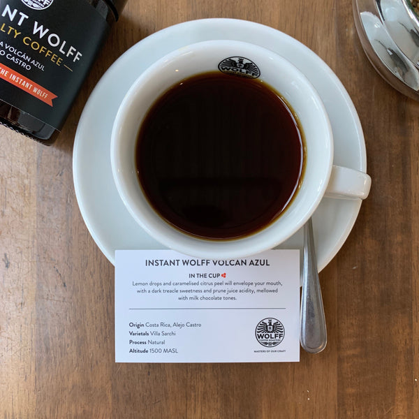 Instant Wolff Volcan Azul - Wolff Coffee Roasters Specialty