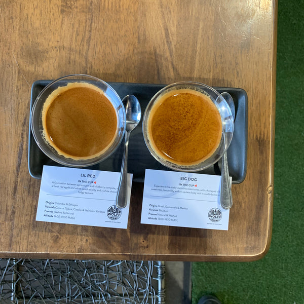 Espresso Flight Haus Blends - Wolff Coffee Roasters