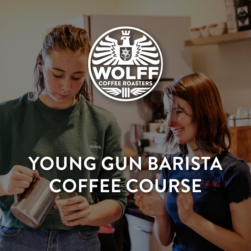 Young Gun Barista Coffee Course - Wolff Coffee Roasters Specialty