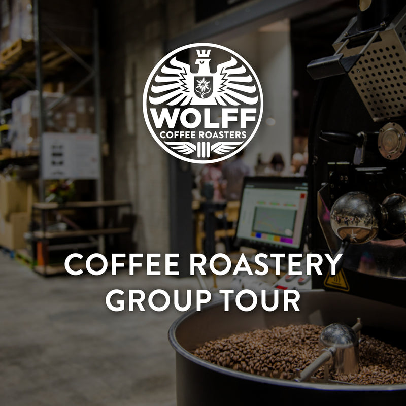 Coffee Roastery Group Tour - Wolff Coffee Roasters Specialty