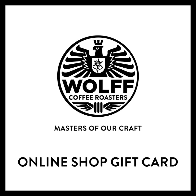 Wolff Coffee Roasters Gift Card - Wolff Coffee Roasters Specialty
