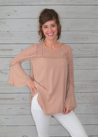 Fancy with Lace Tunic