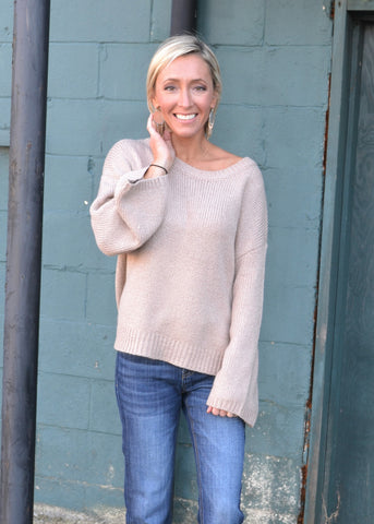 Neutral Territory Sweater