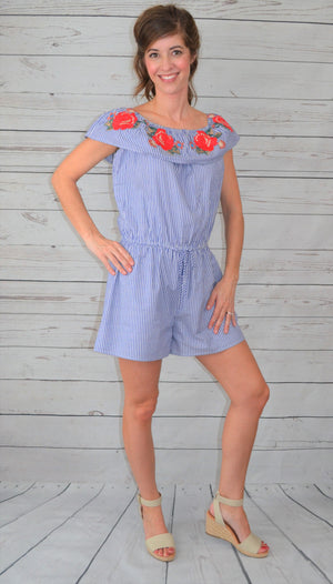 In Full Spring Romper