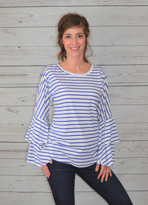 Stripes & Bells Top