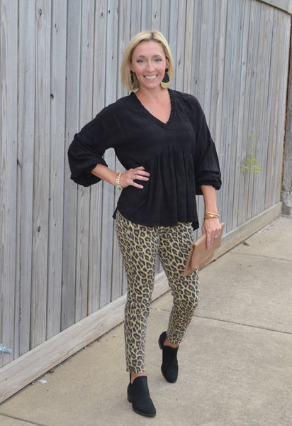 Judy Blue Walk on the Wild Side Leopard Jeggings
